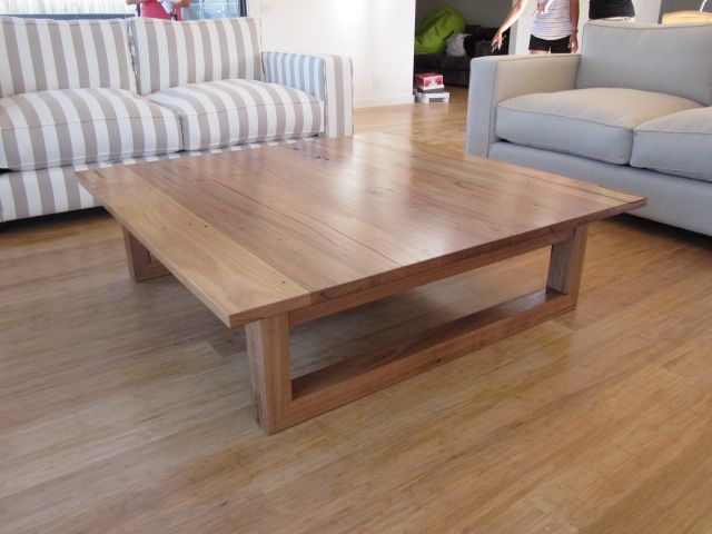 Recycled Messmate coffee table