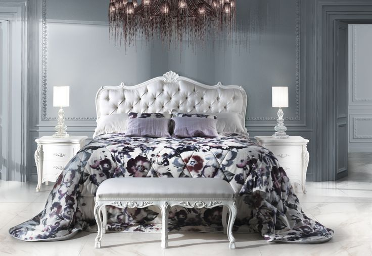 Art. 10040 Bed Made In Italy by Angelo Cappellini, Art. 4029 Bedsides Made In Italy by Angelo Cappellini. Available at Sarsfield Brooke