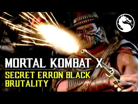 MKX How to perform Erron Blacks secret Brutality