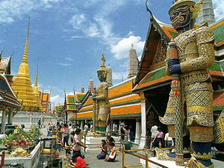Emerald Buddha Temple Thailand