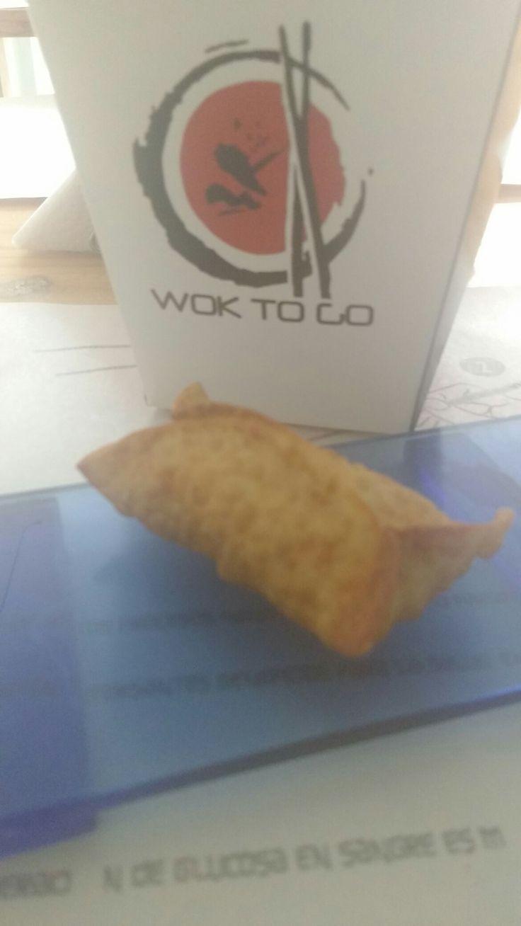 Rollitos de Won Ton