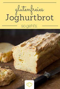 Lust auf selbstgebackenes Brot? Dieses Kastenbrot wird dank Joghurt besonders saftig und ist auch für glutenfreie Genießer geeignet!