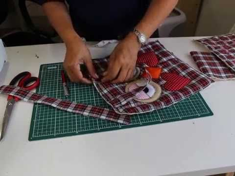 Bolsa de coruja passo a passo . Com Arte de Paninho - YouTube