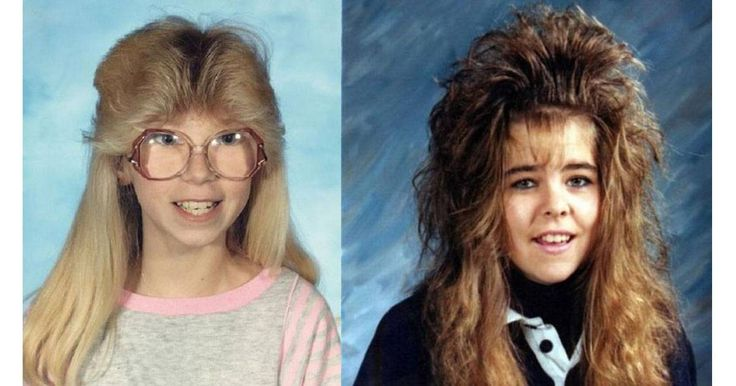 27 Hysterical Haircuts. #6 Made Me Cringe the one here on the right made me cringe ... lol