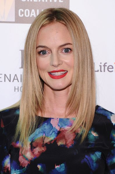 Heather Graham at The Creative Coalition's Spotlight Awards Dinner Gala. Makeup by Beau Nelson.