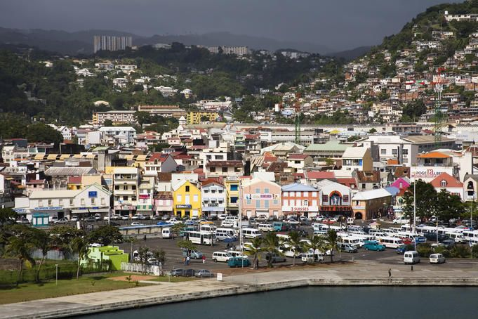 Fort-de-France is the capital of France's Caribbean overseas department of Martinique. It is also one of the major cities in the Caribbean. Exports include sugar, rum, tinned fruit, and cacao.