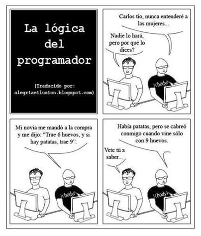 Humor: la lógica del programador