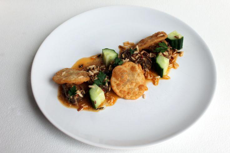 Masterchef week 3: curry met sukade, zoetzure komkommer en platbrood