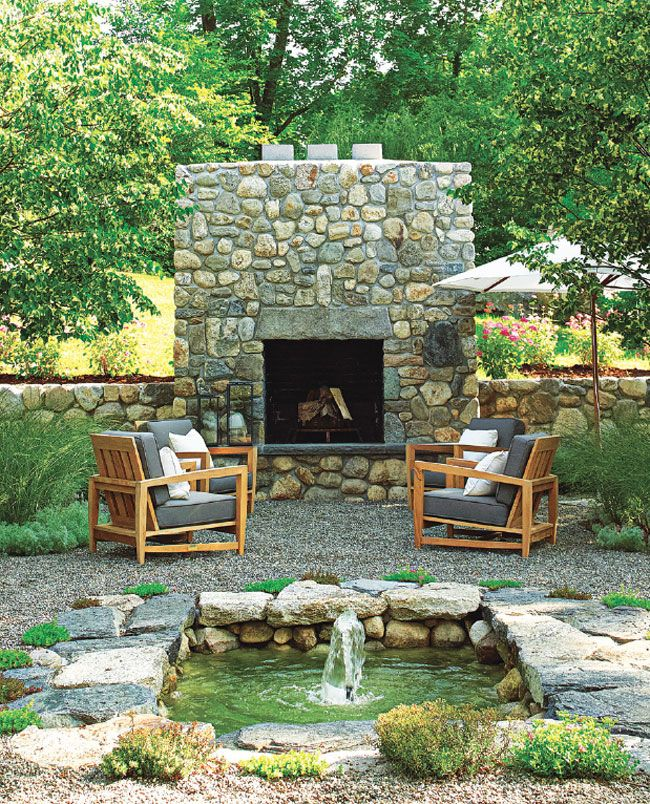 440 best backyard hang out outdoor spaces images on - Connecticut cottages and gardens ...