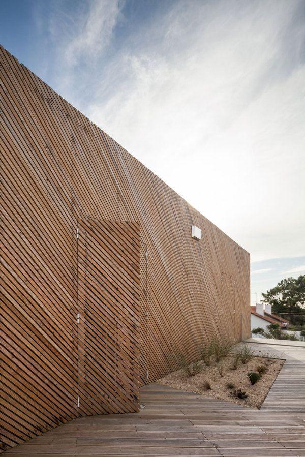 Maison de bois au Portugal!
