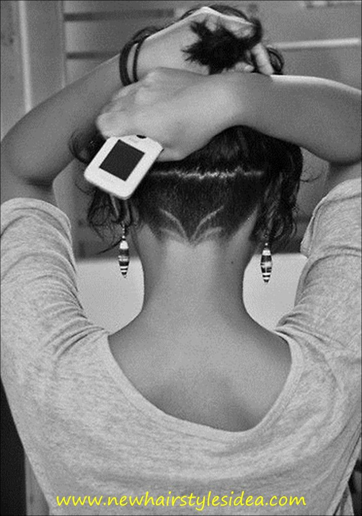 2015 new hairstyles idea for all men and women. Simple undercut design