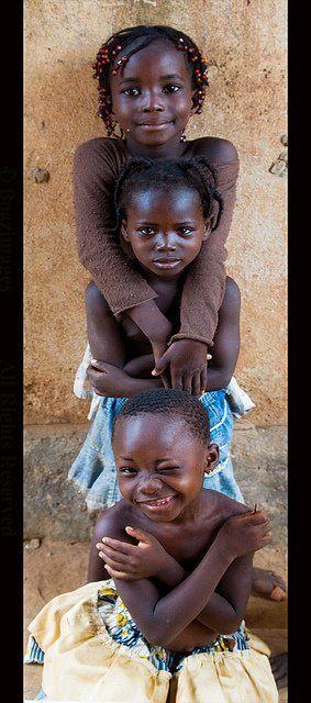 Adorable Burkina Faso Children - America