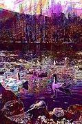 "New artwork for sale! - "" Geese Ducks Landscape Nature Pond  by PixBreak Art "" - http://ift.tt/2tMuEAy"