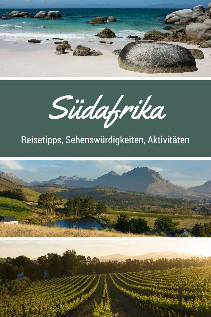 Südafrika - Reisetipps, Sehenswürdigkeiten und Aktivitäten