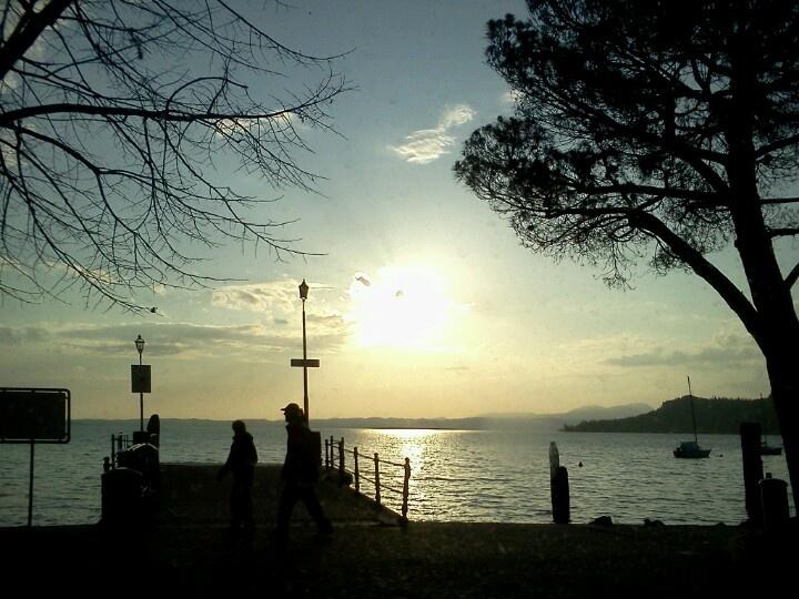 Garda lake.