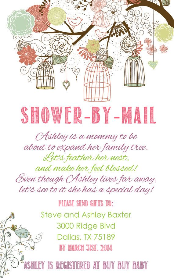 24 best Virtual Long Distance Baby Shower images on Pinterest | Baby ...
