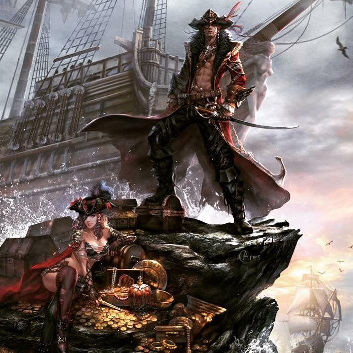 Pin By Azrael Robertson On Mdp Modern Day Pirates Pirate Art Anime Pirate Pirates