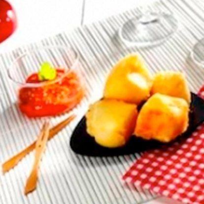 Croquettes de brie au chutney de tomate