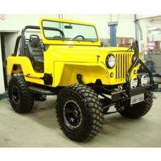 Para-Lama para Jeep Willys CJ5 - Lado Esquerdo - Modelo XTreme by USA