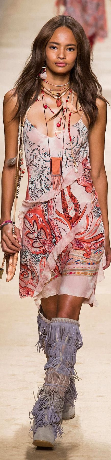 Bohemian Style| Serafini Amelia| Boho Styling-Etro Collection Spring 2015 | The House of Beccaria~