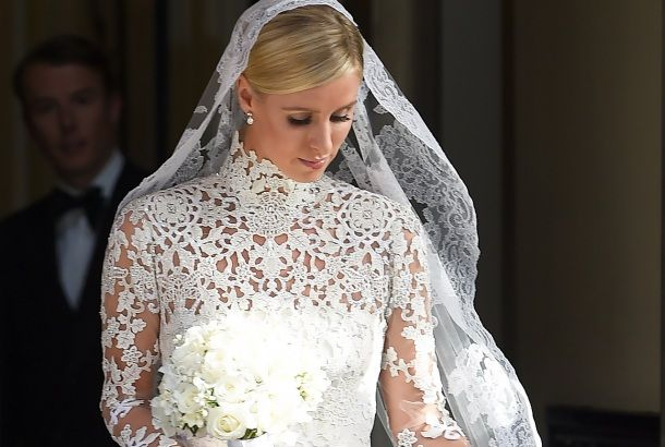 Nicky Hilton makes a gorgeous bride.