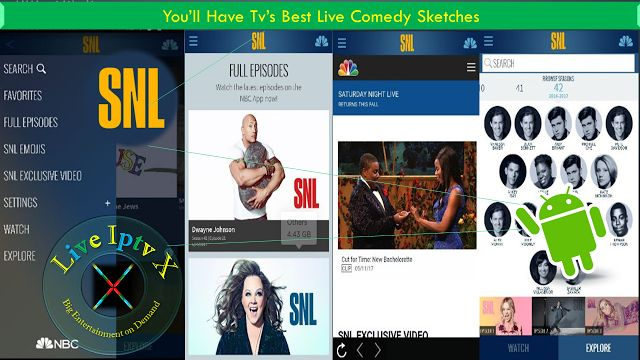 Watch TV Stream Online - Saturday Night Live (SNL) APK For Live Comedy On Android   Free Streaming Live TV Channels[ Iptv APK] : Saturday Night Live (SNL) APK- Live TV APK- In this apk you can watch free Live Comedy Android Devices.  Saturday Night Live (SNL) APK  Watch Live Streaming TV Free Online  Download Saturday Night Live (SNL) APK   Download Android APK - APP[ forAndroid Devices]  Download Apple APP[ forApple Devices]Download Windows APP[ forWindows Devices]  You can create your own…