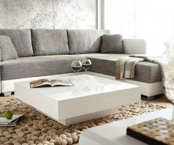 102 best images about white is the new black on pinterest for Couchtisch beige hochglanz