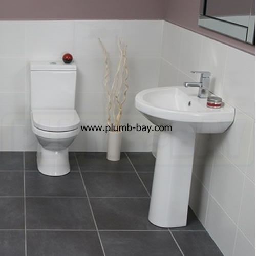 Highlife Troon Compact 4 Piece Bathroom Suite - £396.00  http://www.plumb-bay.com/highlife-troon-bathroom-suite