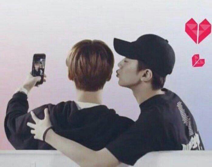 #linhoon moment Lai Kuanlin & Park Jihoon