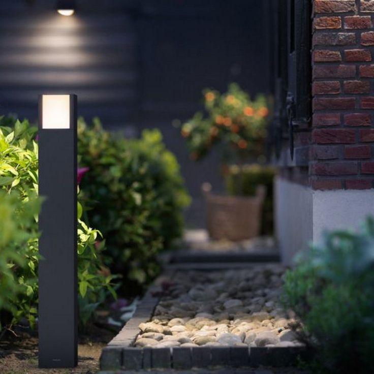 Les 25 meilleures id es de la cat gorie lampe exterieur - Borne d eclairage exterieure avec detecteur ...