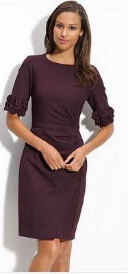 LOVE perfect dress for wedding guest or holiday office party