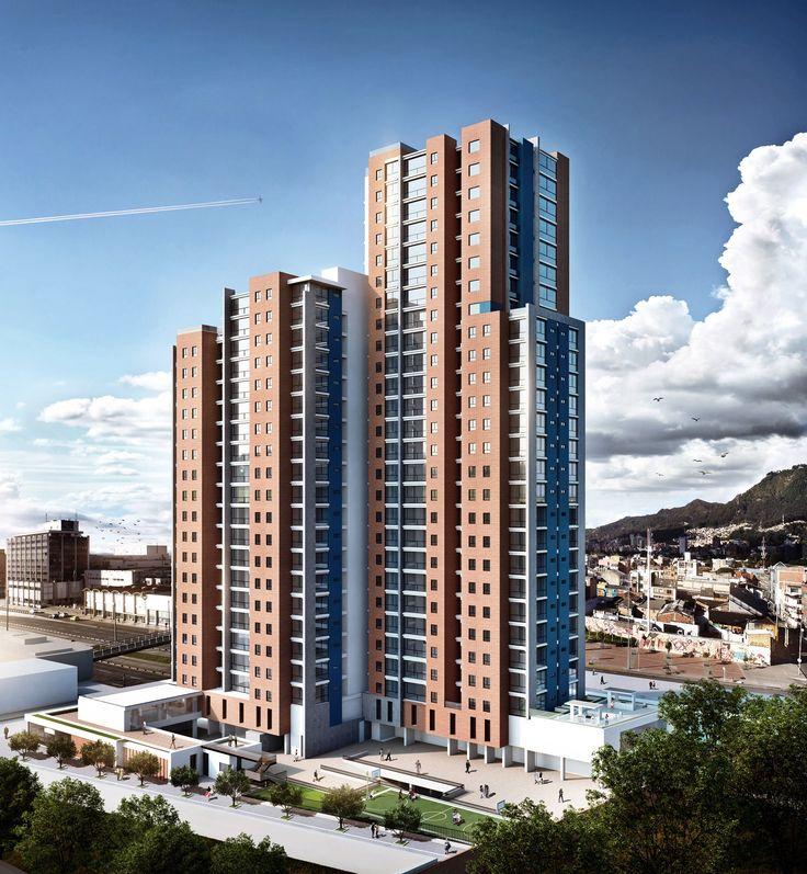 ZIMA 26. 240 Apartamentos Bogotá, Colombia www.glarquitectos...