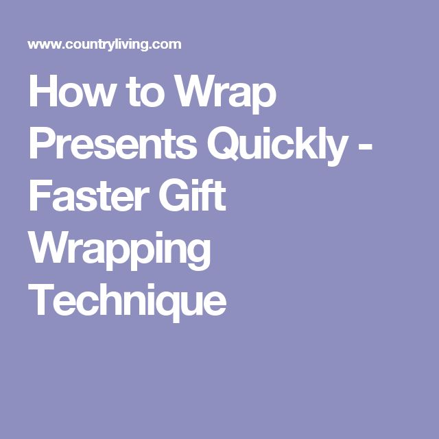 25 best ideas about how to wrap presents on pinterest