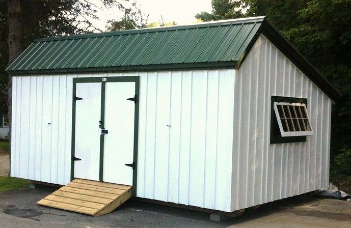 12x20 saltbox shed kits 1 person 36 hours example for Salt shed design