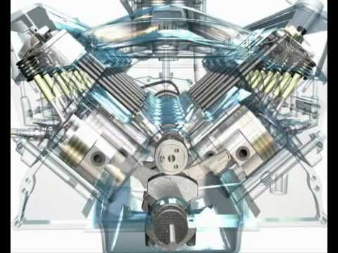 how to make internal combustion engine