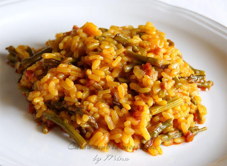 Cuina amb la mestressa arroz con esp rragos trigueros y - Arroz con verduras light ...