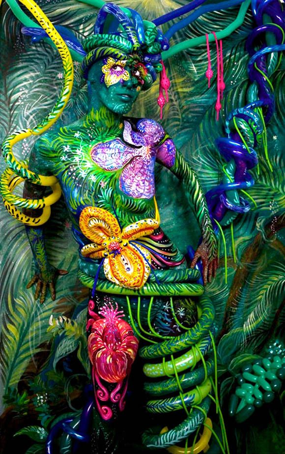 Festival Of Colors: 50 Artistic Body Art Paintings