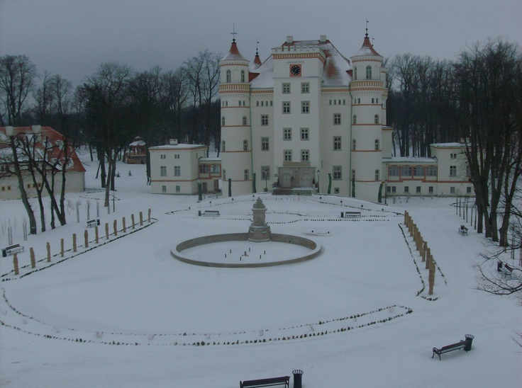 "Jelenia Gora, Poland.  I was here for my cousins amazing wedding.  This is the ""palace"" we stayed at."