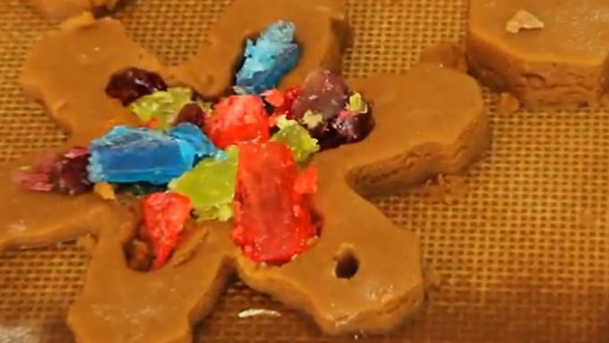 Stained Glass Ornament Cookies: Video
