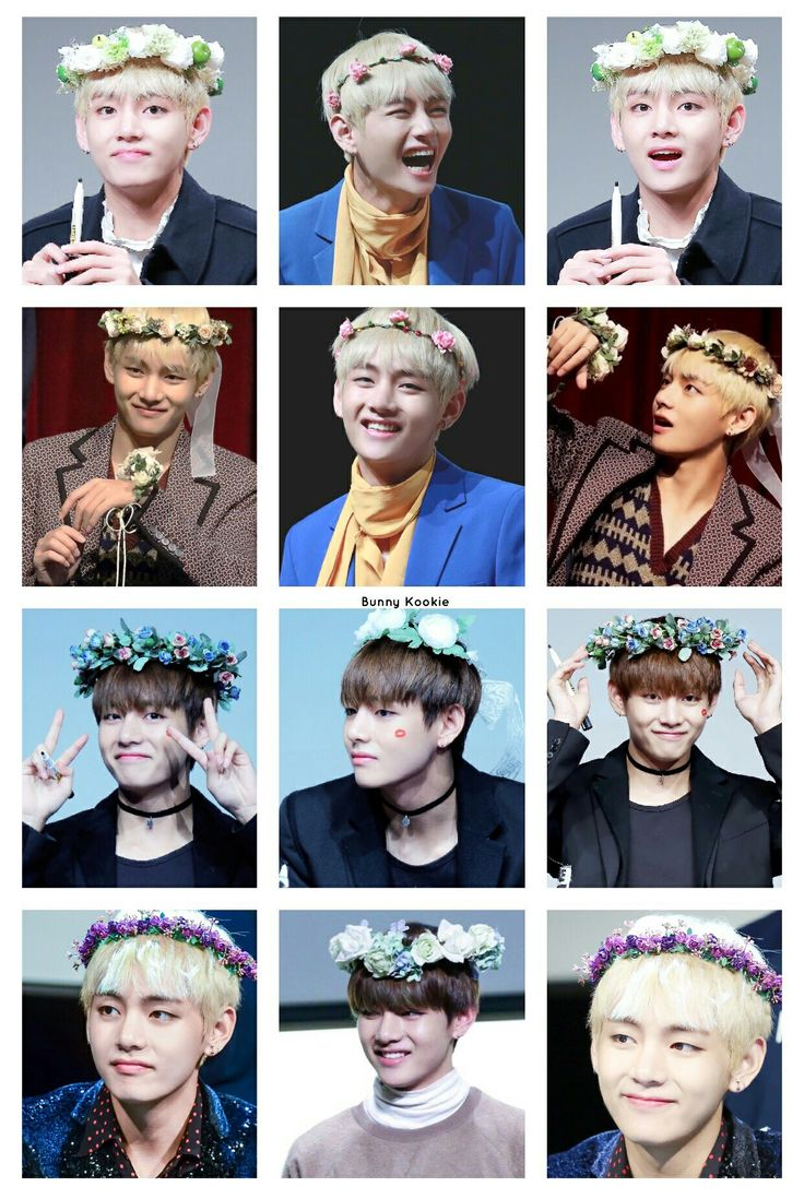 If i ever get to meet them i need to buy them all different flower crowns. A different one for each memeber. Lol MEMEber. Jin's is gonna be pink af