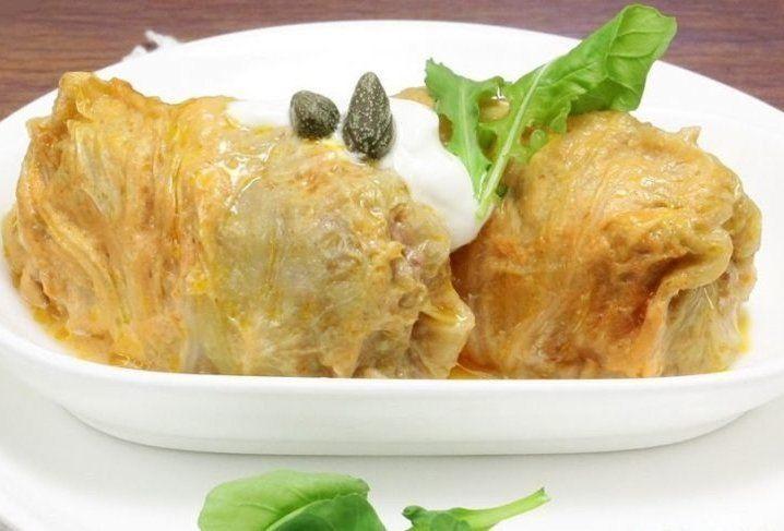 Голубцы тушенные в сметане.Рецепт с пошаговыми фото.   Empanada.RU