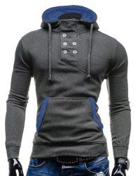 SHARE & Get it FREE   Double Breasted Pocket Hemming Slimming Hooded Long Sleeve Modish Cotton Blend Hoodie For MenFor Fashion Lovers only:80,000+ Items • New Arrivals Daily • Affordable Casual to Chic for Every Occasion Join Sammydress: Get YOUR $50 NOW!