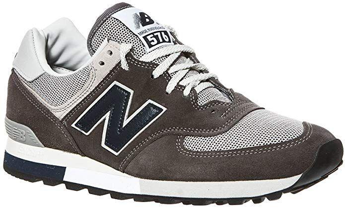 New Balance 576 Sneakers Damen Herren Unisex Grau (mit ...