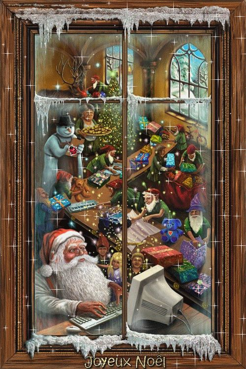 Window to Santa's world