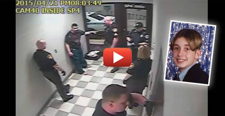 Video Shows Deputy Smash Autistic Man's Skull into the Ground, Killing Him for Joking Around