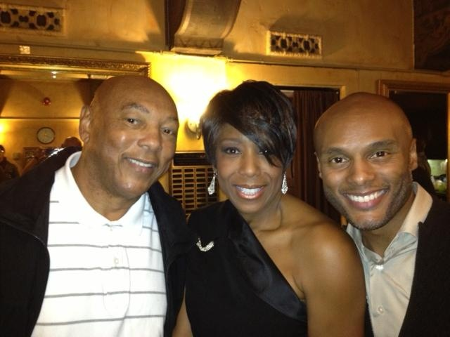 Me, my dad at the Pasadena Playhouse with Dawnn Lewis for the opening night of Intimate Apparel.