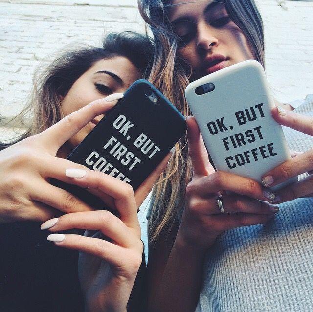 La foto perfecta para tomar con tu mejor amiga, para los fans de las redes sociales :)