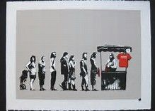 Image result for banksy prints