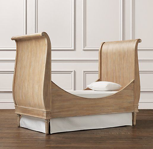 Emelia Sleigh Toddler Bed Converts From A Crib 3beds