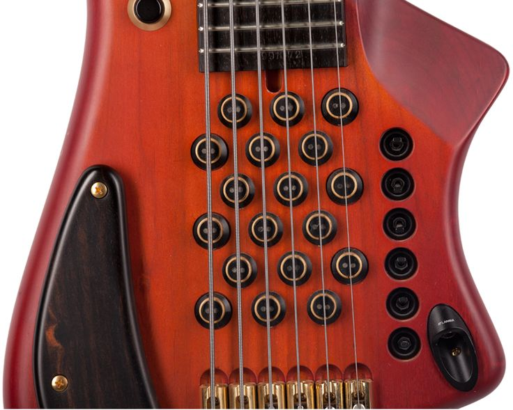 Atlansia Custom 6-string bass - pickups and controls